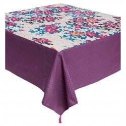 NAPPE RECTANGULAIRE POMPONS...