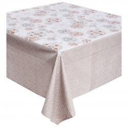 NAPPE RECTANGULAIRE CHRISTMAS AZULI WHITE 170X250CM