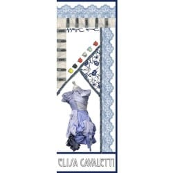FOULARD LONG SOIE PORTO Elisa Cavaletti EJP190856814