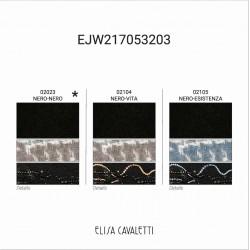 GILET LONG BICOLORE Elisa Cavaletti EJW217053203